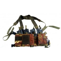 Mini Chest Rig camuflaj vegetal