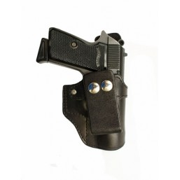 Leather pistol for small pistols