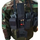 Mini chest rig negru