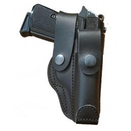 Toc din piele neagra pentru pistol Carpati