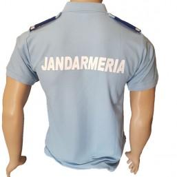 Tricou Polo Jandarmerie albastru deschis - 2