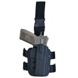 Toc  pistol CZ din Kydex retentie L2 - 2