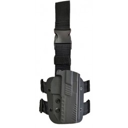 Toc  pistol CZ din Kydex retentie L2 - 3