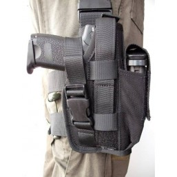 Low enforcement leg holster