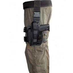 Tactical drop-leg holster, left side
