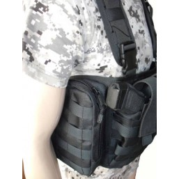 "Vesta neagra ""TYR"" Chest Rig + camel back"