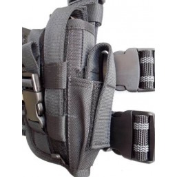 Leg holster for small pistol