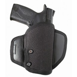 Butterlfy holster with retention